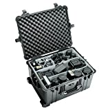 Pelican 1620 Case w/Padded Dividers - Black
