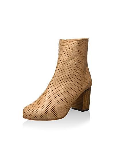 Strenesse Boot LAURA, Damen Kurzschaft Stiefel, Beige (cappuccino 620), 36 EU beige