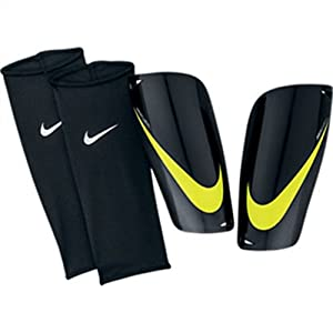 Nike Mercurial Lite Shinguard - Black/Yellow