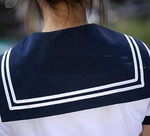 清純 セーラー服 コスプレ 学生服 女子高生<F-0001>