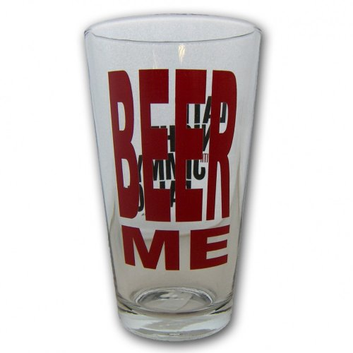 Late Night with Jimmy Fallon Beer Me Pint Glass