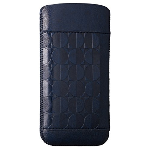 Great Sale Ozaki OC551MO Nature Leather Pouch for iPhone 5 - 1 Pack - Carrier Packaging - Moon
