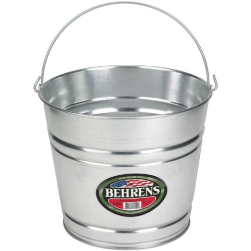 behrens-1210gs-10-quart-galvanized-steel-pail