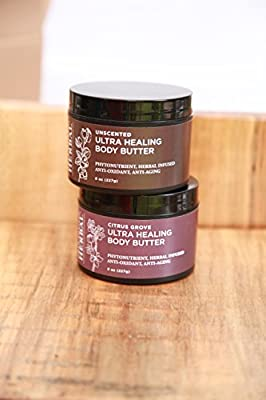 Ultra Healing Body Butter, Made With Organic Shea Butter, Ora's Amazing Herbal