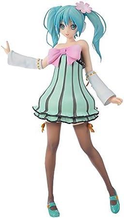 Sega - Figurine Hatsune Miku Project Diva - Hatsune Miku Colorful Drop Sega Prize 24cm - 4974365118198