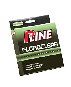 P-Line Floroclear Mist Green Fishing Line 300 Yard (Filler Spool) from P-Line
