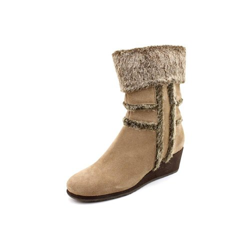 Easy Spirit Brandia Womens Size 11 Beige Suede Fashion – Ankle Boots