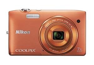 Nikon デジタルカメラ COOLPIX (クールピクス) S3500OR アプリコットオレンジ