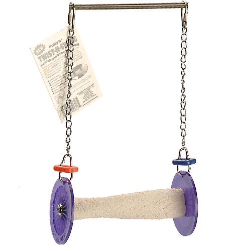 Polly's Twist-N-Swing for Pet Birds, Small
