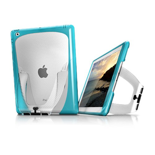iSkin Vu Hybrid Case with Stand for Apple iPad 2 - Blondi Blue