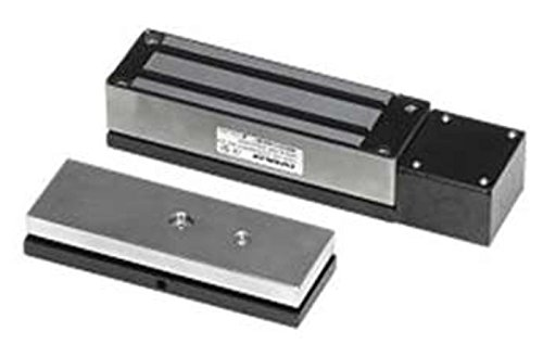 Seco-Larm Enforcer Electromagnetic Gate Lock, 1,300 Lbs. With Weldable Bracket (E-942Fc-1K3Sq)