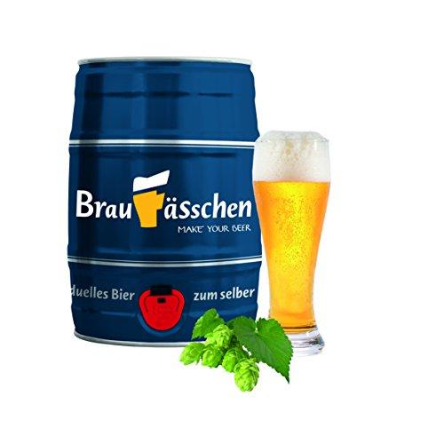 Bierbrauset zum selber Brauen - Weißbier im 5 L Bierfass - in 7 Tagen gebraut