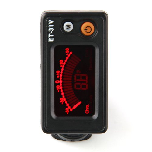 Eno Et-31V Clip On Digital Electric Tuner For Violin Chromatic Black