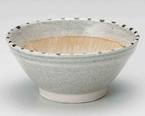 Dots Tokusa 14.7cm Mortar Grey Ceramic Made in Japan