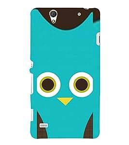 EPICCASE blue cutie Mobile Back Case Cover For Sony Xperia C4 (Designer Case)