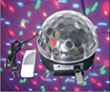 Mp3 & LED Mini RGB Crystal Magic Ball Effect Light DMX Disco Dj Stage Lighting for Xmas Home Dance Party Ballroom Club Pub Bar+remote Control+u-disk By I-surprise New Arrival