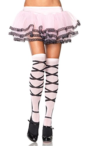 Acrylic ballerina knee high