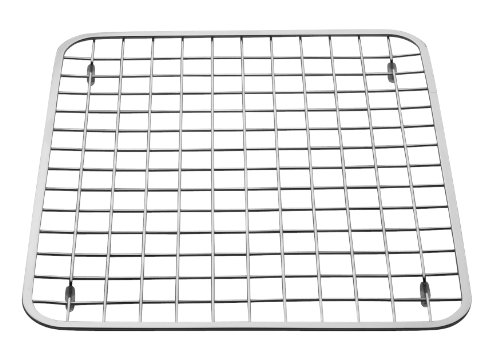 InterDesign Sink Grid, Regular, Polished Stainless Steel (Stainless Steel Sink Protectors compare prices)