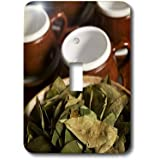 3dRose LLC lsp_86965_1 Peru, Cuzco Coca Leaves and Tea Cups Sa17 Bja0152 Jaynes Gallery Single Toggle Switch