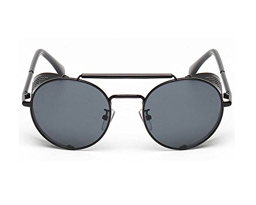 Meijunter Vintage Occhiali da sole rotondi di vapore Cyber Goggles