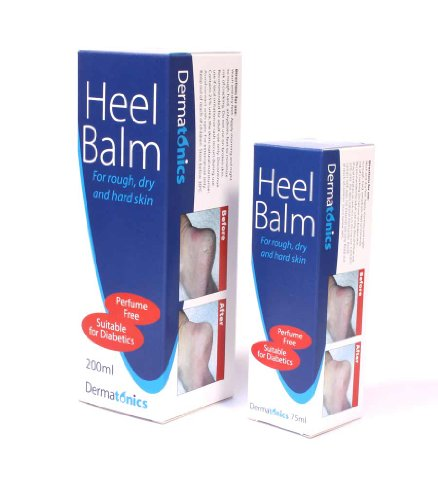 Dermatonics Heel Balm 200ml - For Dry, Cracked Heels