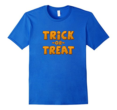 Distressed Trick or Treat Shirt