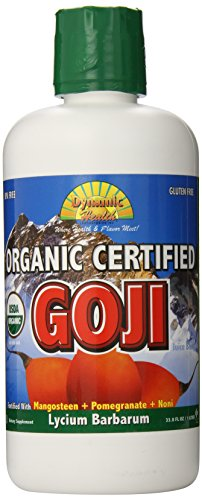Dynamic Health Organic Certified Goji Juice Blend, 33.80-Ounce (Organic Goji Juice compare prices)