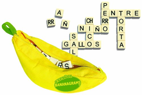 Spanish Bananagrams Family Word Game