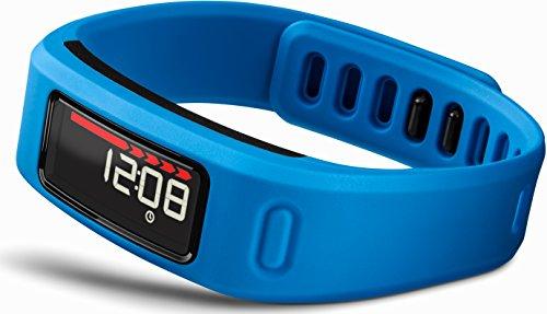 Garmin Vívofit HRM Braccialetto Wellness per Rilevamento Attività Fisica con Fascia Cardio Inclusa, Blu
