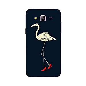 Back cover for Samsung Galaxy A5 High Heel Swan