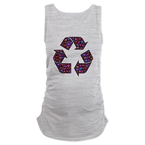 truly-teague-womens-maternity-tank-top-i-love-to-recycle-symbol-with-hearts-ash-grey-large
