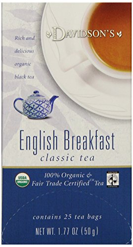 Davidsons English Breakfast Tea Bags, 25 Count