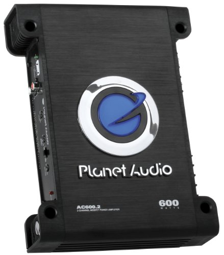 Planet Audio Ac600.2 Anarchy 600-Watts Full Range Class A/B 2 Channel 2 Ohm Stable Amplifier