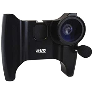 ALM mCAM Stabilizer Mount with Video Lens , Mic for iPhone 4 , 4S -Black