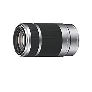 Sony SEL-55210.AE Objectif E 55-210mm F4.5-6.3 OSS pour Appareil photo Nex Aluminium