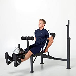 Competitor Olympic Bench by Impex Inc