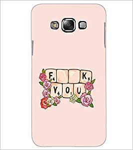 PrintDhaba Quote D-2274 Back Case Cover for SAMSUNG GALAXY A8 (Multi-Coloured)