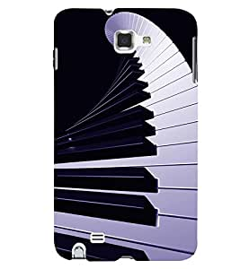 PRINTSWAG PIANO Designer Back Cover Case for SAMSUNG GALAXY NOTE 1 N7000