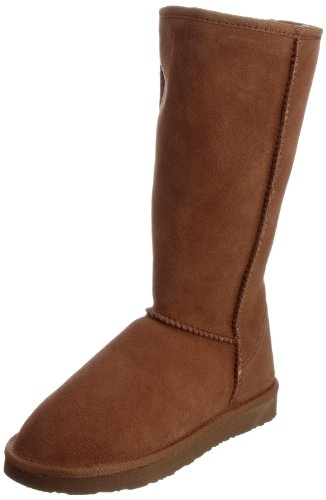 Ukala Women's Sydney High Chestnut Knee High Boots W80001 6 UK