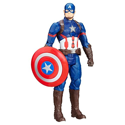 Avengers Age of Ultron Titan Hero Tech Captain America With Lights Up