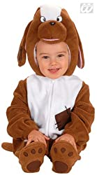Dog baby costume Deluxe brown-white from KULTFAKTOR GmbH