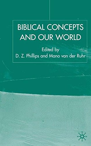 Biblical Concepts and our World (Claremont Studies in the Philosophy of Religion)
