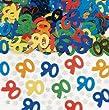 Amscan International Confetti Metallic Large 90
