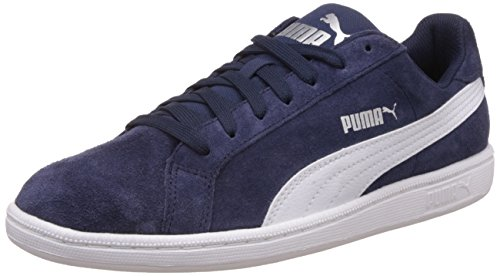 Puma Smash Sd, Sneaker Man (Gymnastics), Peacoat/Bianco, 8