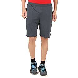 Lavos Men Gun Metal Shorts (Large)