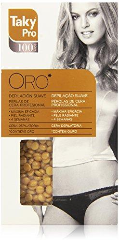 Taky Strisce Ceretta, Pro Oro Perlas de Cera Professional, 200 gr