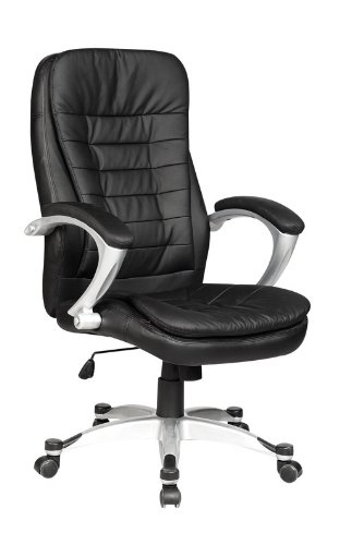executive leather ergonomic office chair w metal base o16 cheap deals