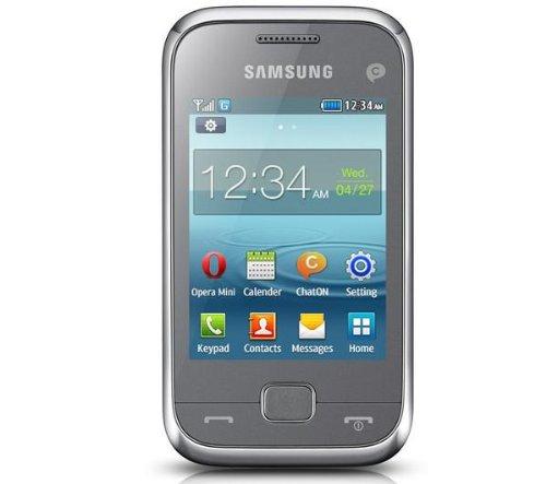 SAMSUNG Rex 60 C3310 - silber - Mobiltelefon