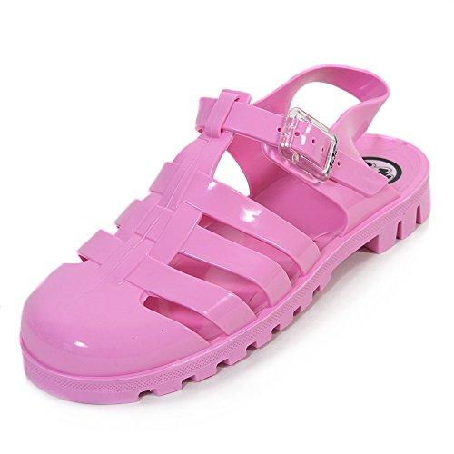 JuJu, Sandali donna Multi Glitter, Rosa (Pink), 38.5