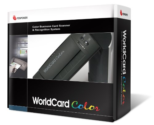 Sale!! Penpower WorldCardColor Color Business Card Scanner